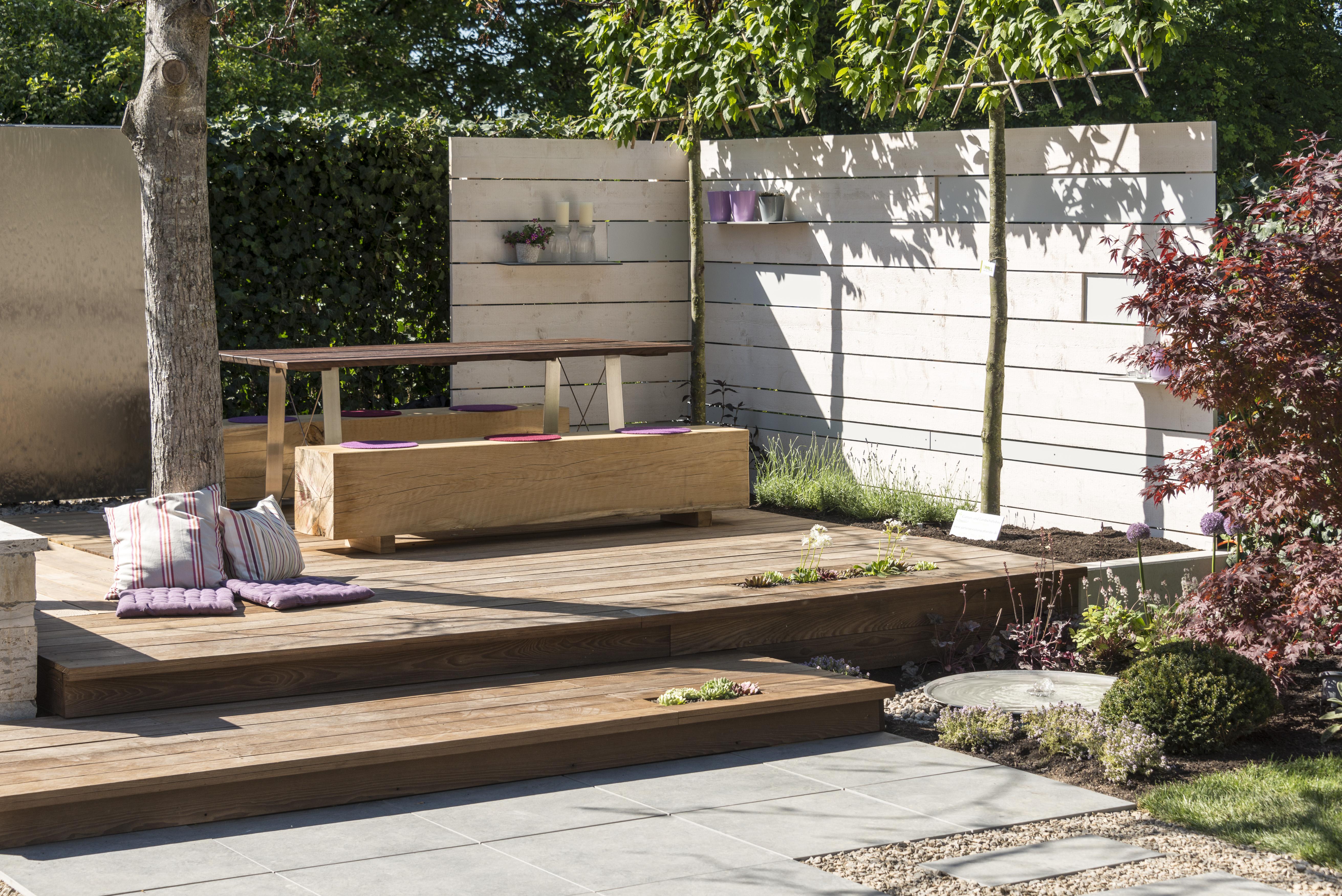 Stand auf der Gardenlife 2017 - Mobiler Schreiner, Patrick Pfän